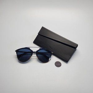 BRAND NEW DIOR REFLECTED BLUE SHADED SUNGLASSES